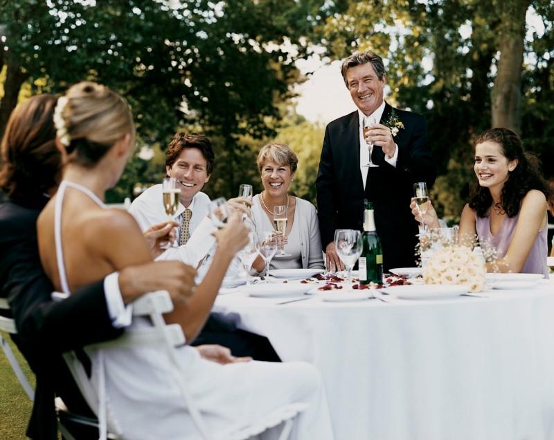 Поздравление родителям на свадьбе от гостей