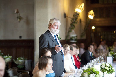Father of the bride speech tips. Hosting the wedding.