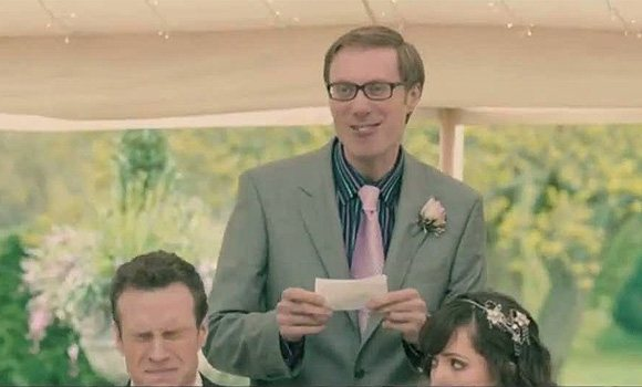 Stephen Merchant's best-man-speech in I Give It A Year... he should have read about this blog