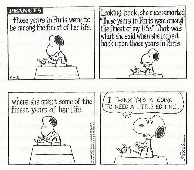 Peanuts-Editing